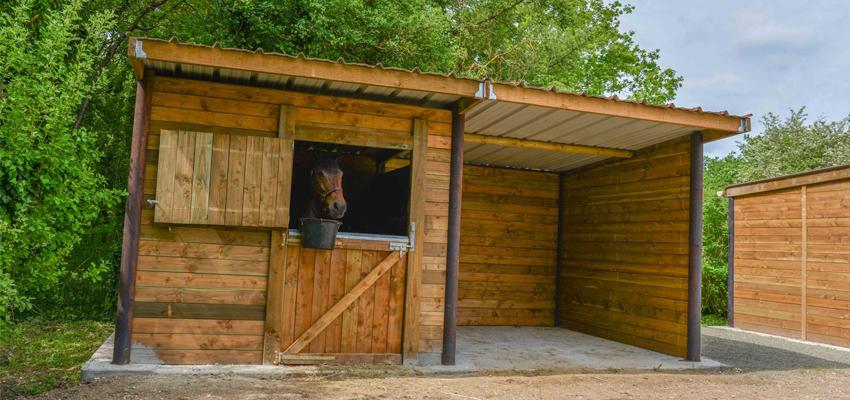 box pour les chevaux