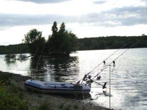 la pêche au petit lac